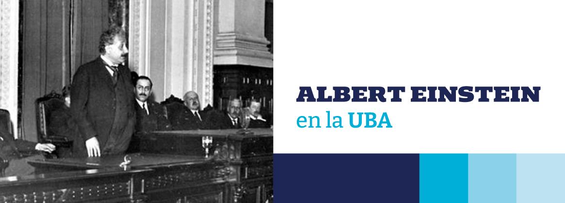Imagen de la noticia Albert Einstein en la UBA