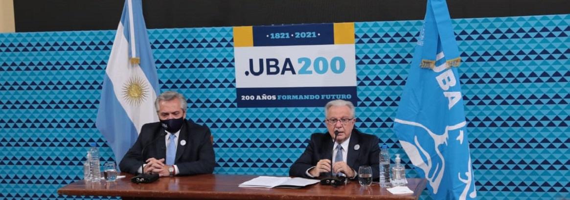 Imagen de la noticia La UBA inició las actividades conmemorativas por sus 200 años