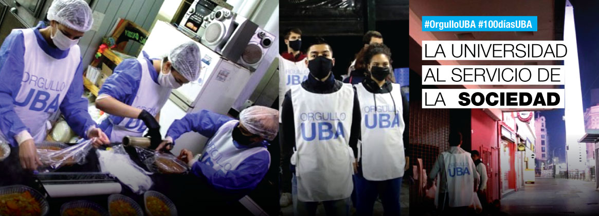 Imagen de la noticia Voluntariado UBA, otra forma de ayudar en la pandemia