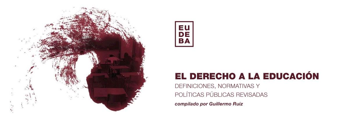 Imagen de la noticia Eudeba presenta El Derecho a la Educación