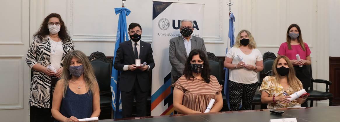 Imagen de la noticia Se entregaron los Premios UBA 2020