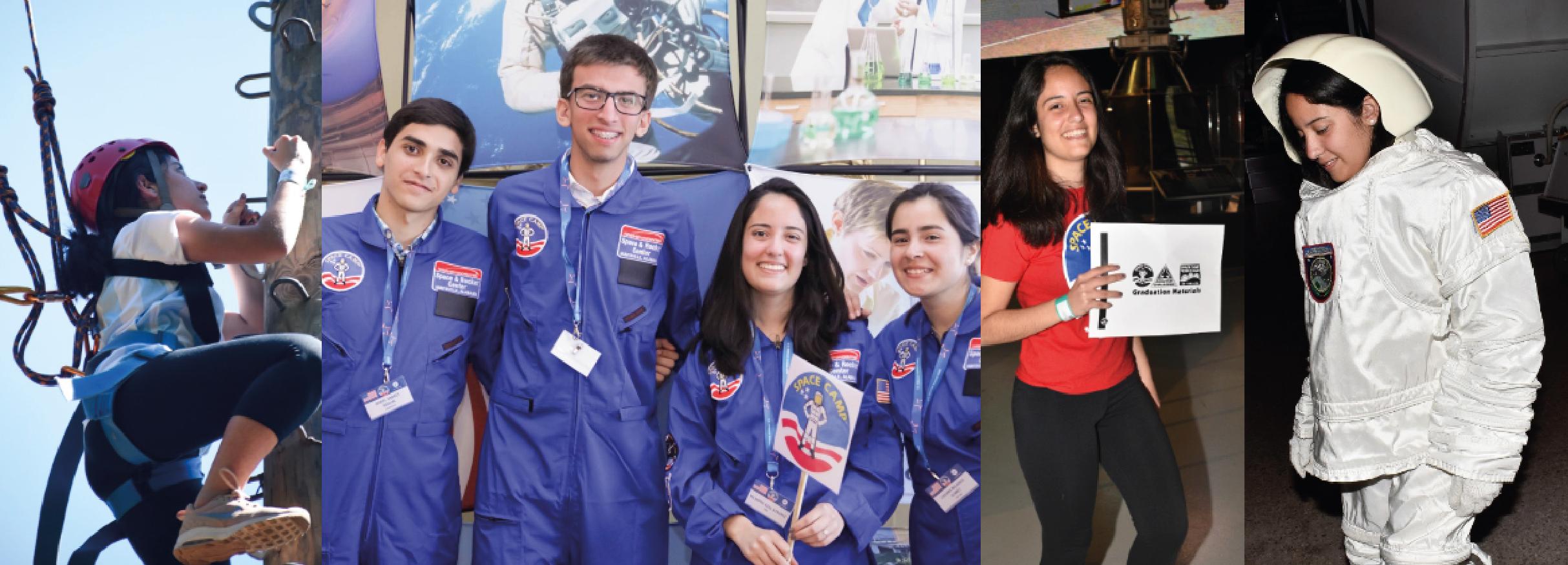 Imagen de la noticia >Estudiante de la UBA entrenó como astronauta en la NASA