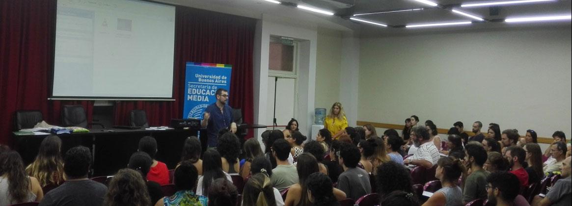 Imagen de la noticia Jornadas de capacitación para tutores del programa Universitarios por más universitarios