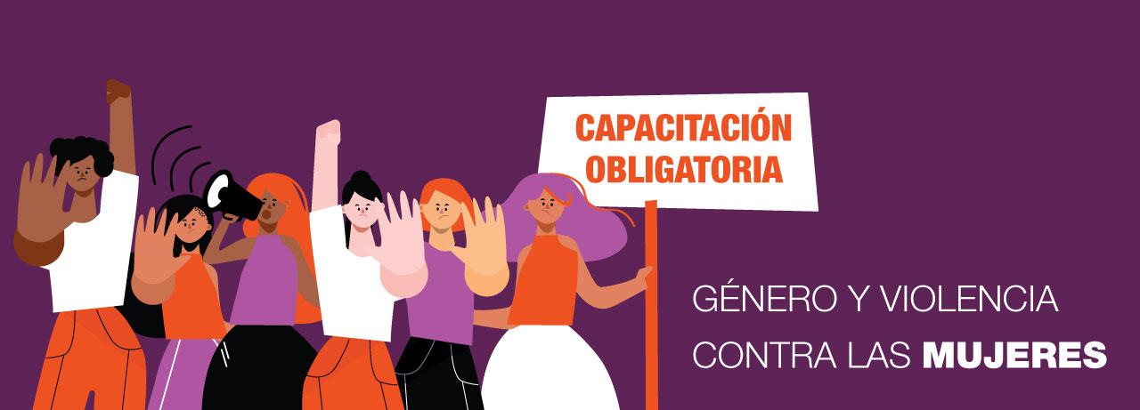 Imagen de la noticia Capacitación Obligatoria de género y violencia contra las mujeres