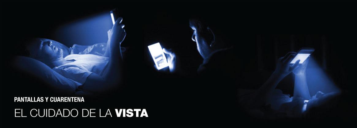 Imagen de la noticia Pantallas y cuarentena: cómo reducir el daño en la vista
