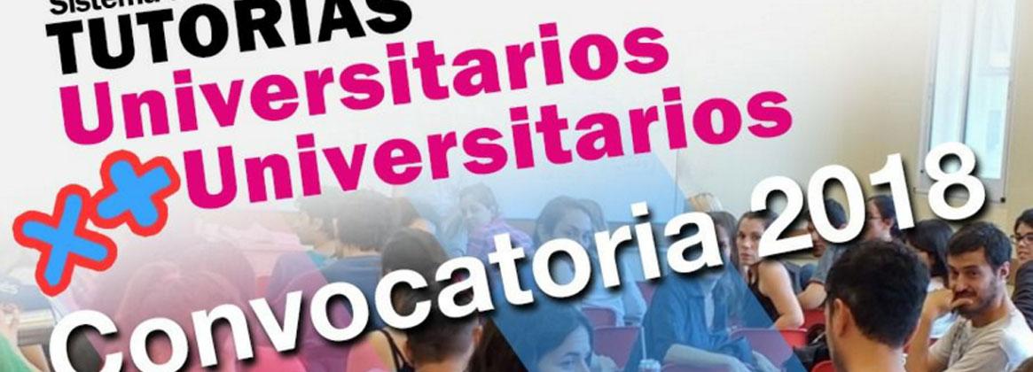 Imagen de la noticia Convocatoria 2018 Equipo de Tutores Universitarios por más Universitarios