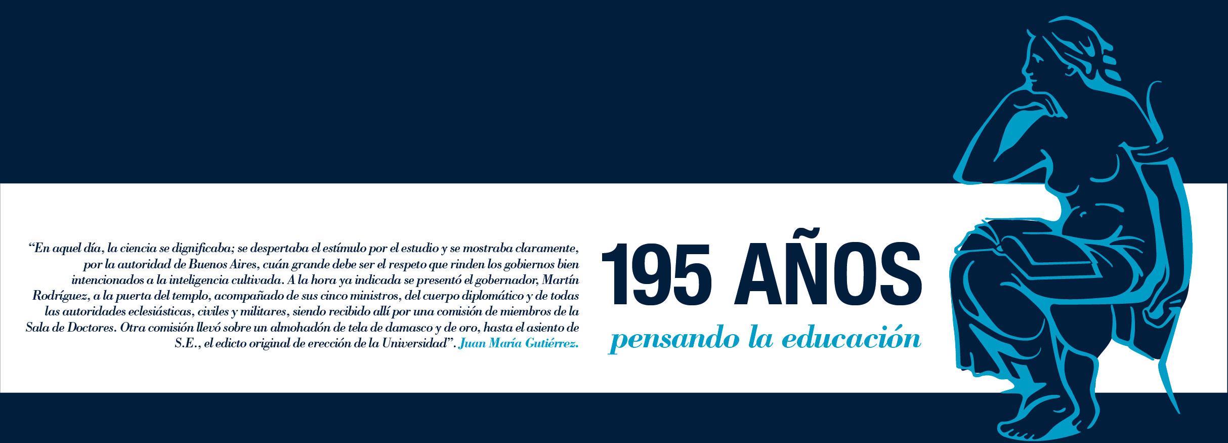Imagen de la noticia La UBA celebra su 195º aniversario