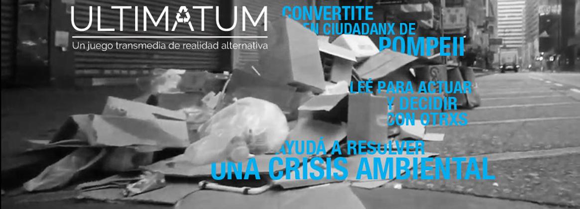 Imagen de la noticia Ultimatum, un juego transmedia de realidad alternativa