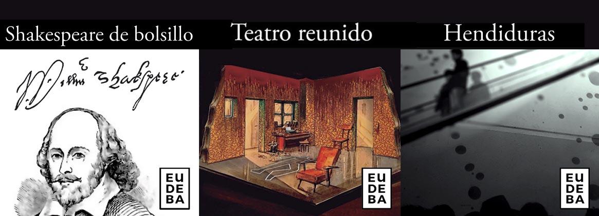 Imagen de la noticia Nuevos libros de Eudeba y Proteatro