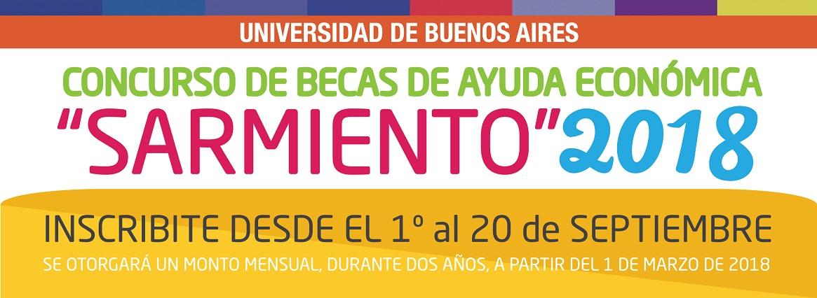 Imagen de la noticia Becas de Ayuda Económica Sarmiento 2018