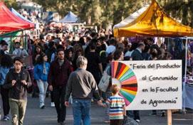 Feria del Productor al Consumidor.
