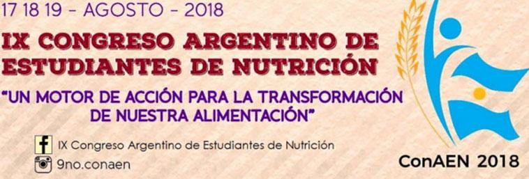 Imagen de la noticia Congreso Argentino de Estudiantes de Nutrición
